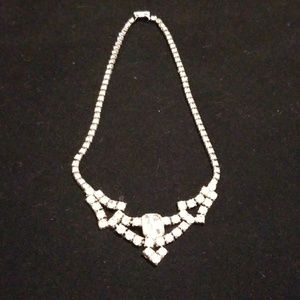 Vintage costume jewelry, necklace